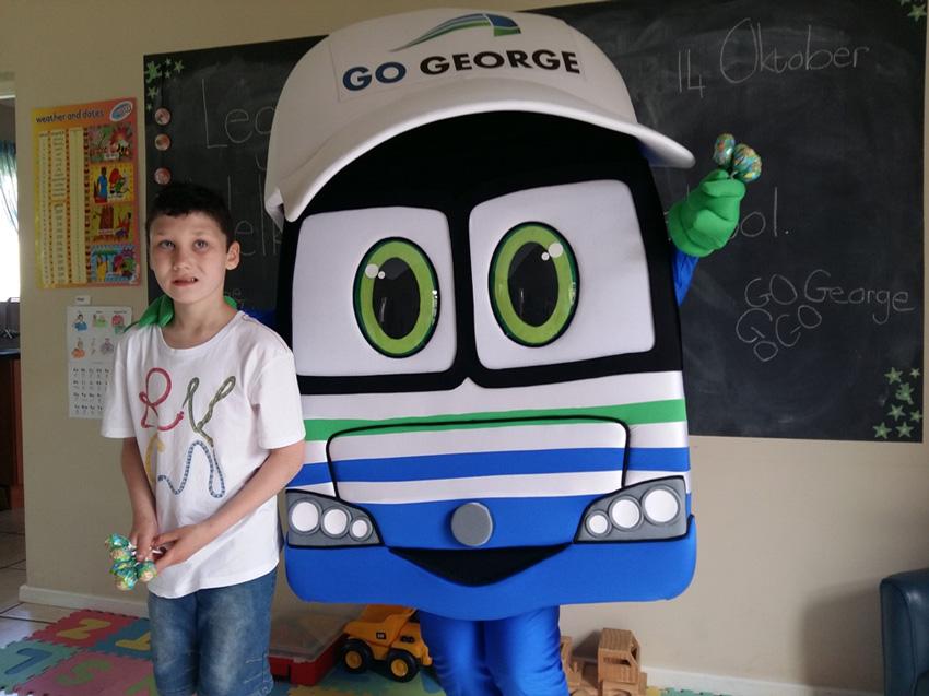 Migael en Georgie