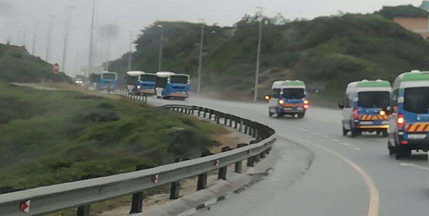 Busse in Sedgefield