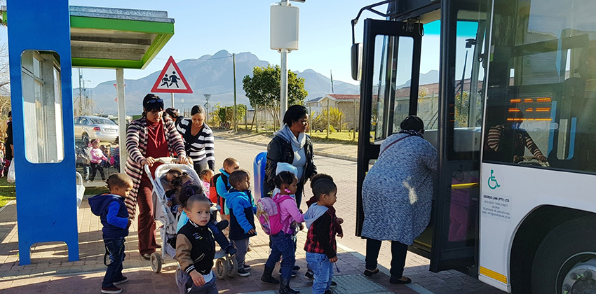 Toddlers boarding