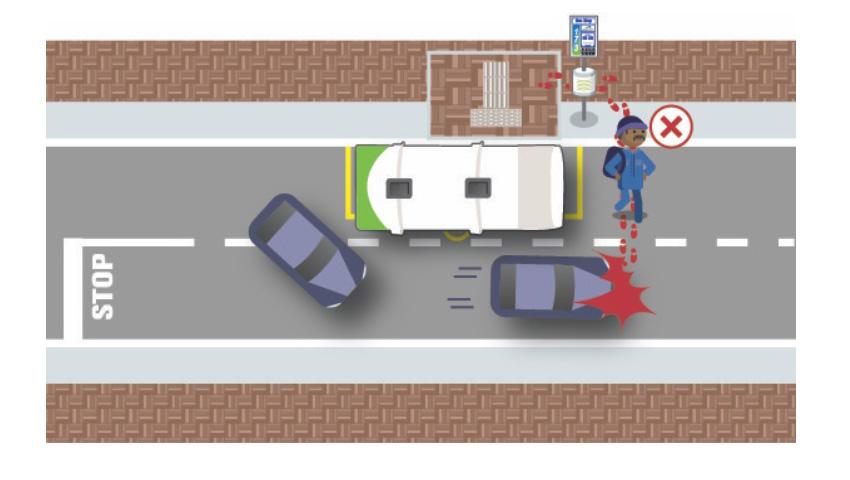 Pedestrians infographic