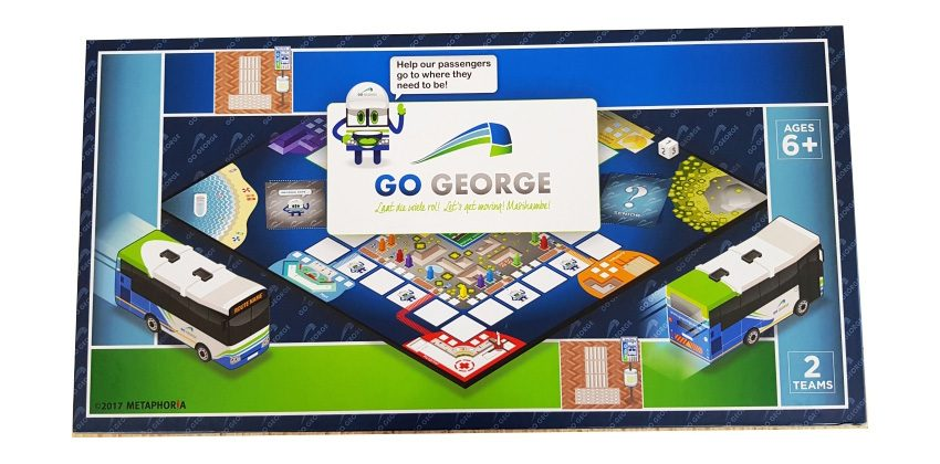 GO GEORGE board game