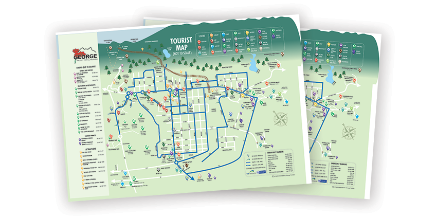 George Tourism Map