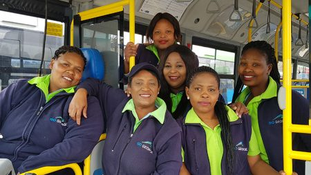 Female bus drivers