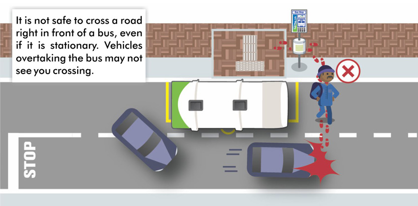 Pedestrian safety graphic 2