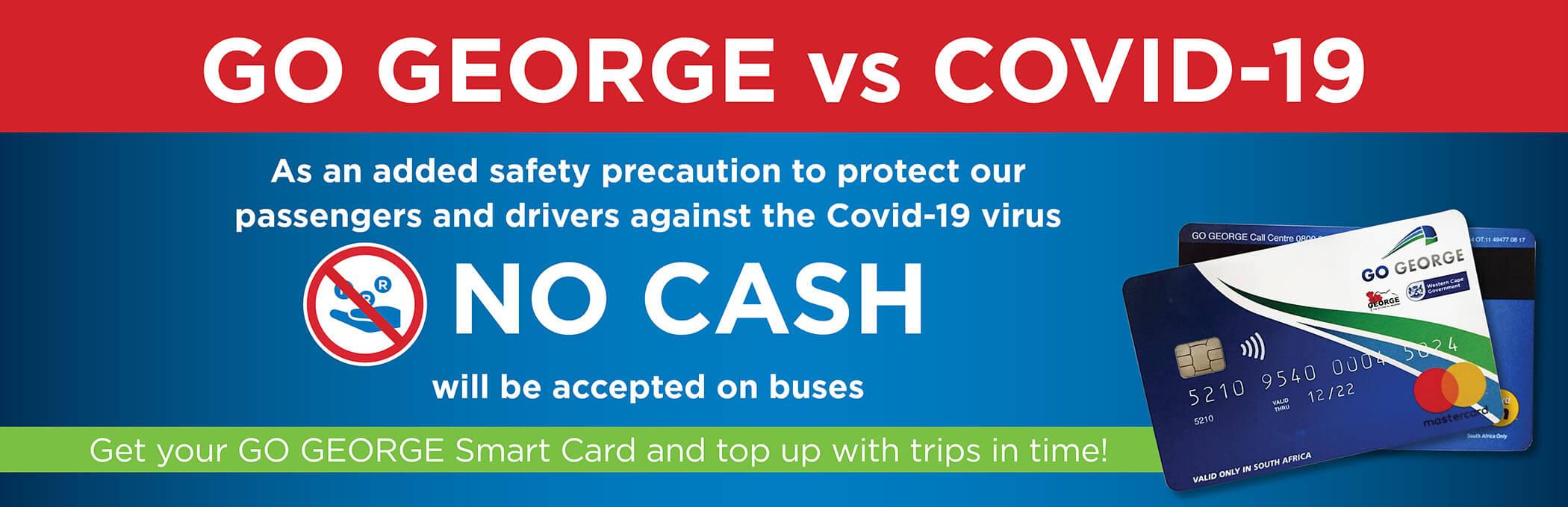 GO GEORGE No Cash Web slider